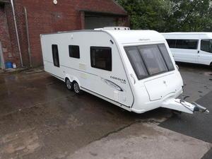 2009 Compass Corona 624 fixed bed 4 berth touring caravan