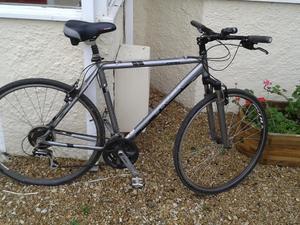 Mens trek hybrid bicycle