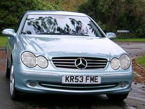 Mercedes Clk 2003