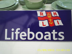 garage and table top sale in aid of Newhaven Lifeboat