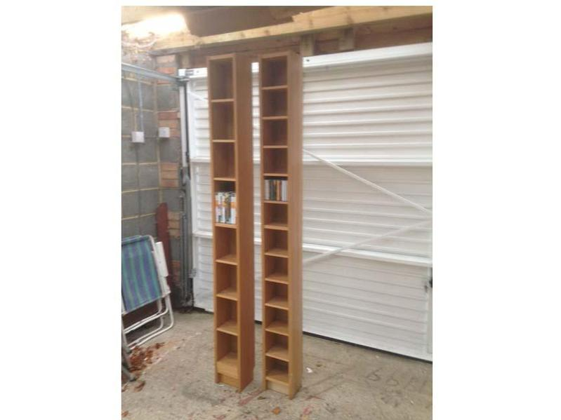 CD/DVD Ikea Tower Storage Units (two). In Horsham   Expired | Friday Ad