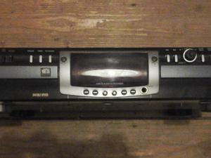 Phillips twin deck CD recorder with double speed disk copying.