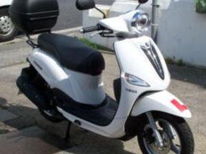Yamaha 114cc Desire, Scooter