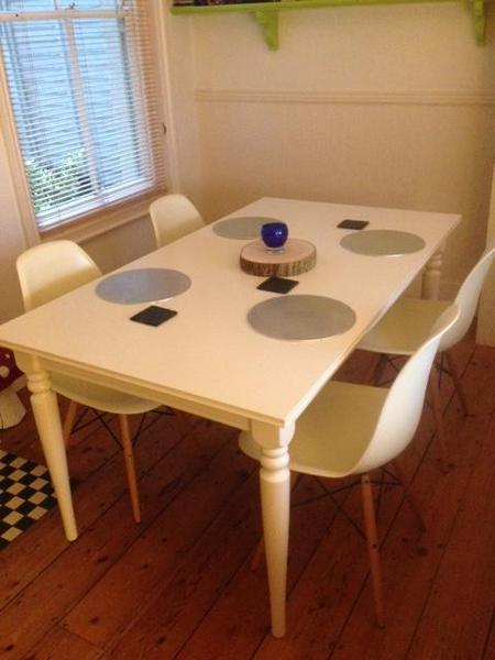 Ikea Ingatorp White Extendable Table (seats 6 8) In Steyning   Sold |  Friday Ad