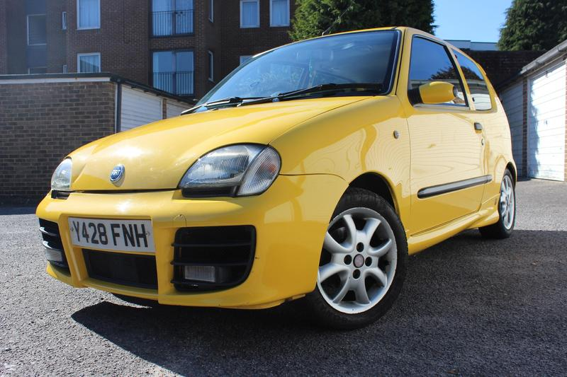 fiat seicento sporting abarth in brighton expired. Black Bedroom Furniture Sets. Home Design Ideas