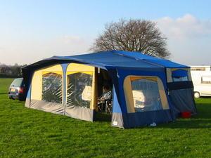 Conway Crusader Trailer Tent