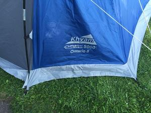 Kyham Ontario 8, Weather Weave 5000 tent