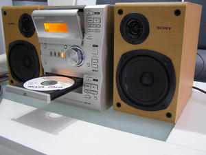 Sony Micro HiFi component system CMT-CP1. CD player,   Tape player, Tuner Radio