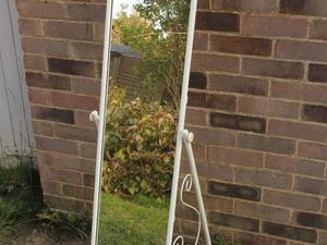 Argos Scroll Cheval Freestanding Mirror White was GBP40 now only 15 pounds