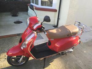 50cc Scooter Vespa Style