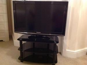 Panasonic Viera 32in Flat screen LCD with matching stand.