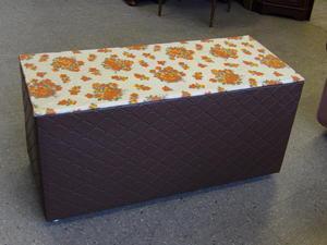 Retro Blanket Box / Ottoman / Storage Box - Local Delivery Service Available