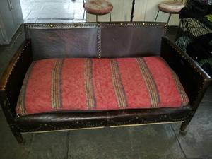 Antique Leather Sofa in need of restoration