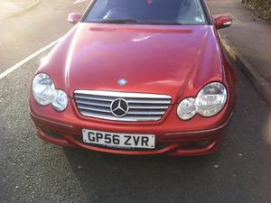 Mercedes C-class 2007 56 reg kompressor c180 se 140.8bhp 1.8 petrol