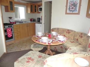 Static Caravan for sale on the Isle of Wight. No more site fees until 2017!! Only £22,796