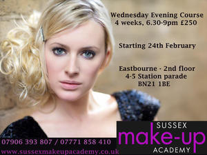 Part time Evening and Weekend Courses in Make-up Artistry