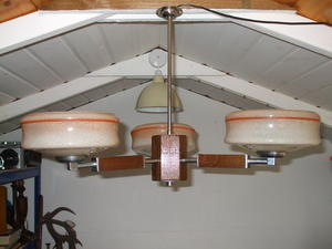 Art Deco Ceiling Light Fitting Pendant wanted