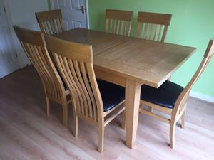 8 Oak Chairs For Sale In UK 60 Second Hand 8 Oak Chairs