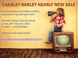 Charley Barley Nearly New Sale