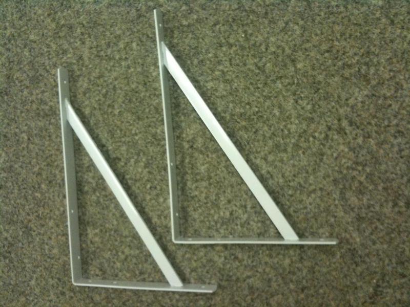 Heavy Duty Shelf Microwave Angle Brackets In Bognor