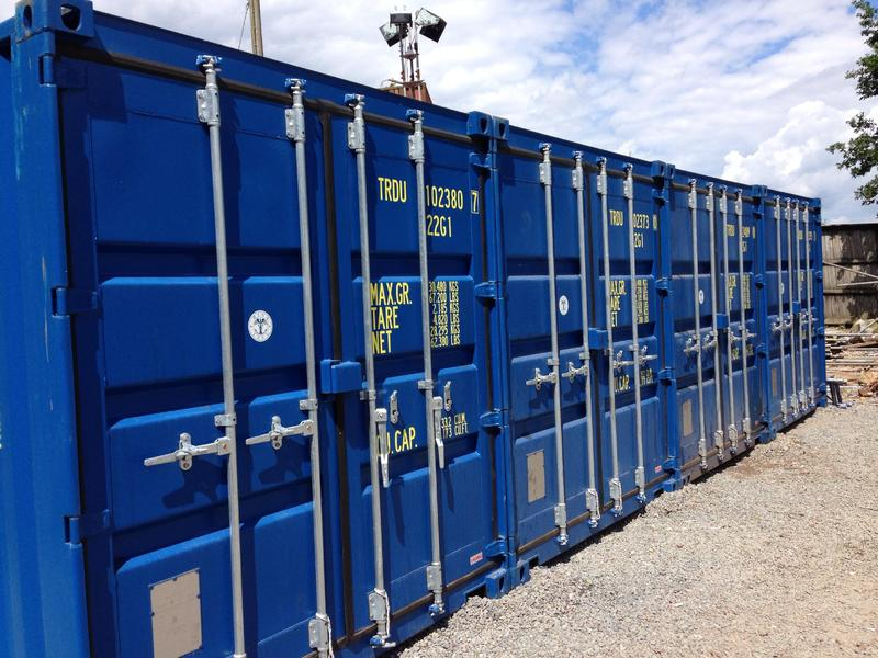 SELF STORAGE   Shipping Container Storage In Secure Alarmed Yard In Pevensey