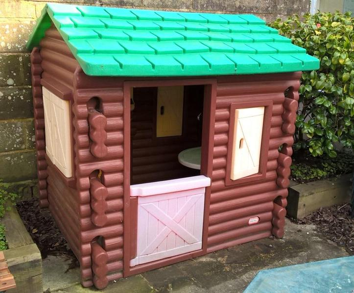 Little Tikes House Replacement Parts : Little tikes log cabin playhouse in worthing sold