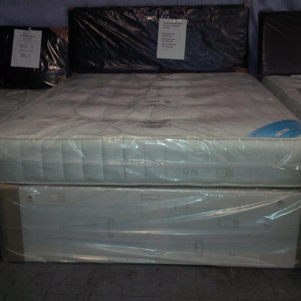 brand new 4 foot apollo divan bed and mattress in