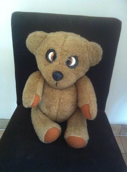 Vintage Retro 1970 S Nookie Bear Ventriloquist Puppet