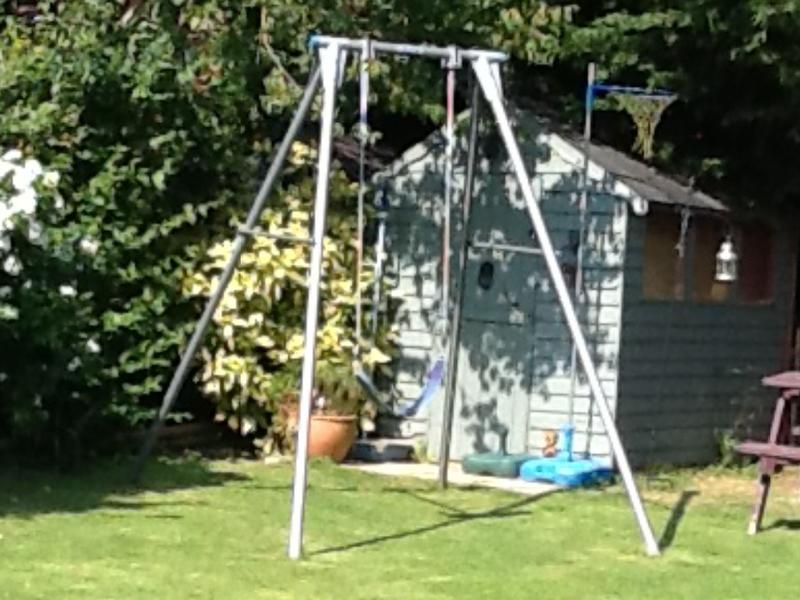 Tp 130 single giant swing frame in eastbourne expired for Swing set frame only