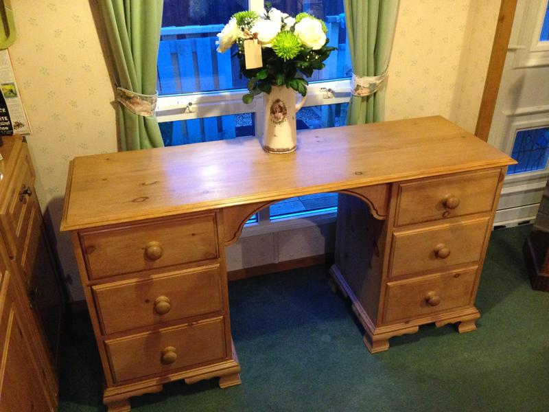 Pine Dressing Table ~ Pine dressing table antique solid