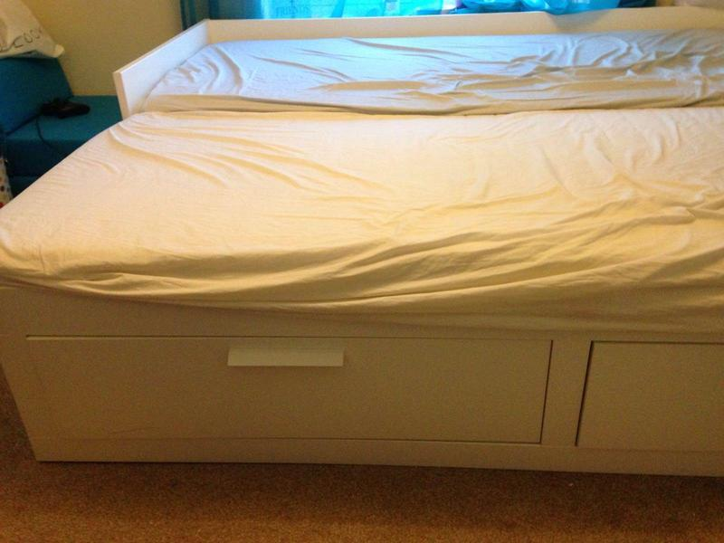Single-bed-converts-into-double & Awesome Quick Sale:IKEA Single Bed ...