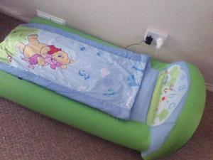 My first ready bed. Disney Winnie the pooh inflatable ...