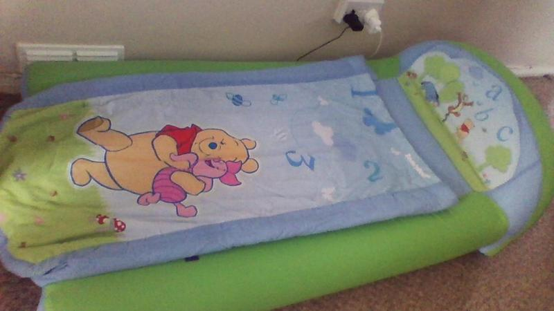 My First Ready Bed Disney Winnie The Pooh Inflatable