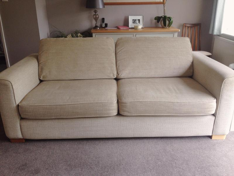 Furniture Village Advert 2016 furniture village three seater cream sofa eleanor in maidstone