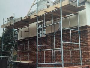 Steel tower scaffold for sale in uk view 48 bargains - Exterior scaffolding rental near me ...