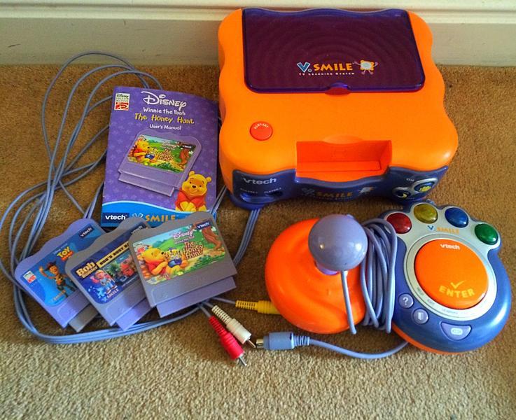 Vtech vsmile tv console games in eastbourne expired friday ad - Console vtech vsmile pocket ...