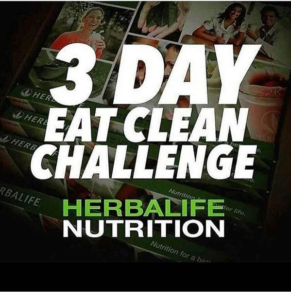 Herbalife: 3 Day Eat Clean Challenge - Nottingham - Expired ...