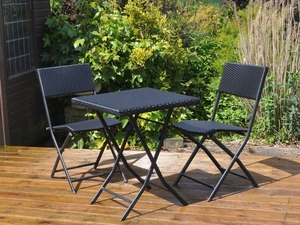 Prepossessing Ikea Garden Table   Chairs Dark Grey Metal And Plastic Rattan  With Luxury Rattan Effect Table And  Chairs Bistro Set  Brand New  Sale  With Astounding Micro Mesh Garden Netting Also Decorative Garden Bridge In Addition Garden Slope Solutions And Compayne Gardens As Well As Pictures Of Landscaped Gardens Additionally Fine Gardening Tools From Fridayadcouk With   Luxury Ikea Garden Table   Chairs Dark Grey Metal And Plastic Rattan  With Astounding Rattan Effect Table And  Chairs Bistro Set  Brand New  Sale  And Prepossessing Micro Mesh Garden Netting Also Decorative Garden Bridge In Addition Garden Slope Solutions From Fridayadcouk