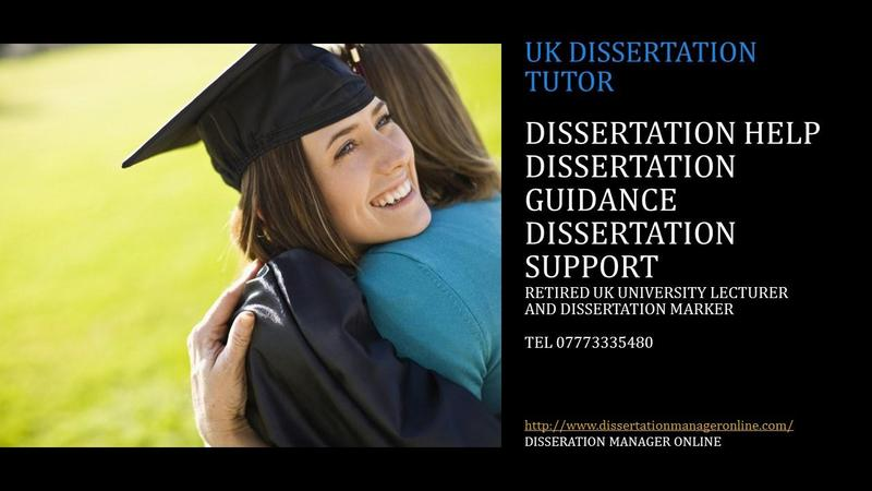 Dissertation guidance