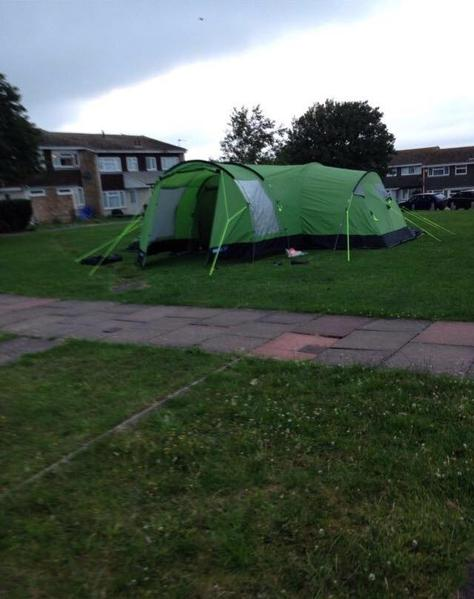 & Kampa watergate 8 tent and awning in Eastbourne - Expired | Friday-Ad