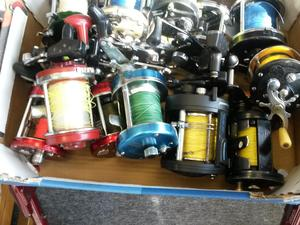 Used fishing gear for Cheap fishing rods for sale
