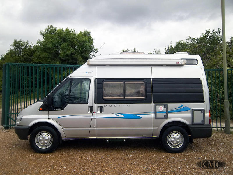 Ford Transit Autosleeper Duetto Automatic 2 4 Tdci