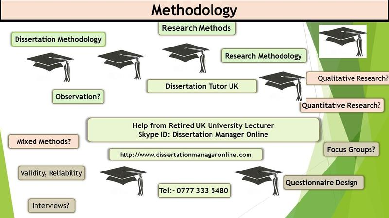 writing a dissertation research methodology