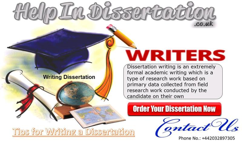 Help With Writing A Dissertation The Uk