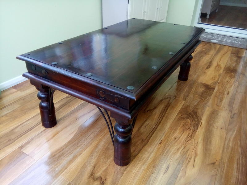 Coffee table polegate friday ad for Coffee table with studs
