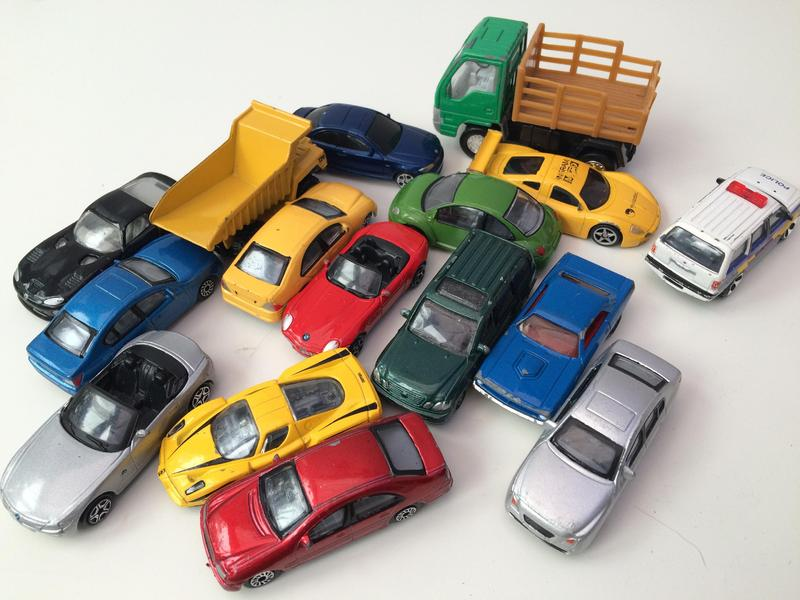 Small Toy Cars : Selection of small toy cars in haywards heath expired