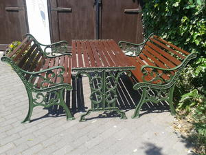 Cast Iron Garden Furniture For Sale In Uk View 139 Ads