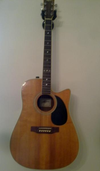 marlin acoustic elec 6 string guitar vgc in good working order in northampton expired friday ad. Black Bedroom Furniture Sets. Home Design Ideas