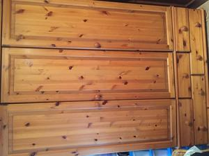Pine wardrobe for sale bristol