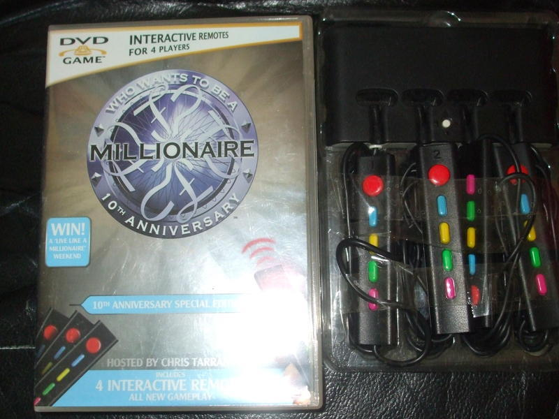 Who Wants To Be A Millionaire DVD Game - Brighton